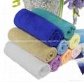 多用途超細纖維擦車毛巾75x3