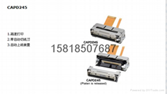 SII thermal printer CAPD245  LTP1245U  LTPZ245M