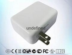 MERRYKING电源适配器英规白色9V1A电源适配器|