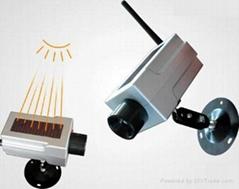 太阳能仿真监控摄像头