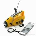 手摇充电太阳能收音机 1