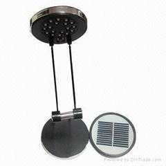 折叠式太阳能LED台灯