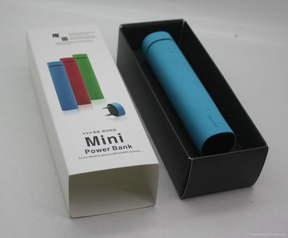 Portable Power Bank + Speaker 3