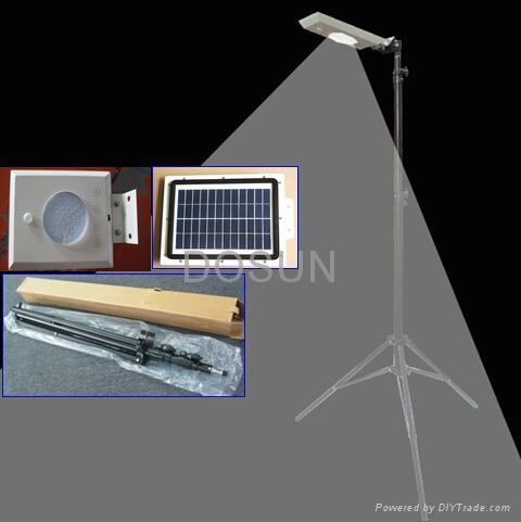 压铸铝一体化太阳能路灯 3