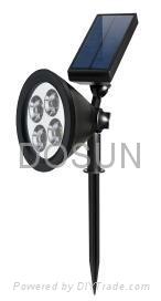 太阳能LED射灯 2