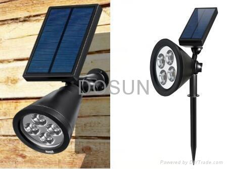 太阳能LED射灯 4