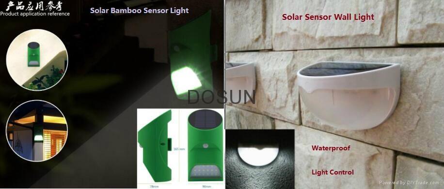 Solar Sensor Wall Light 3