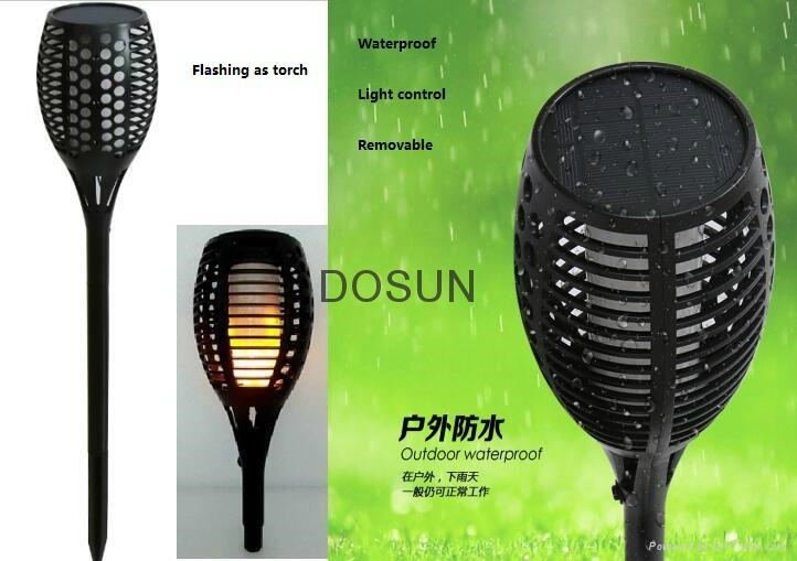 Solar Tiki Torch Light 4