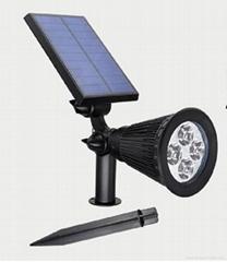 太阳能LED射灯