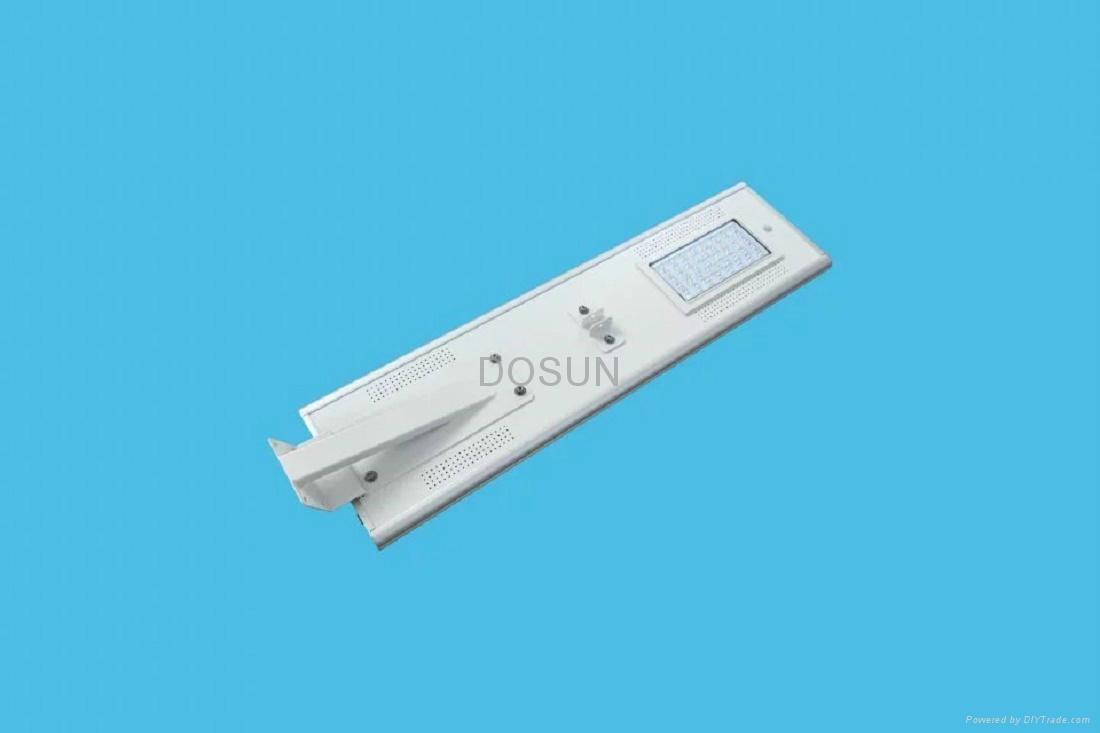 压铸铝一体化太阳能路灯 4