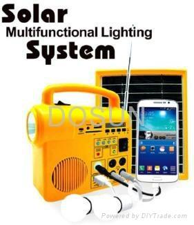 手摇充电太阳能收音机 4