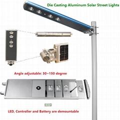 壓鑄鋁一體化太陽能路燈