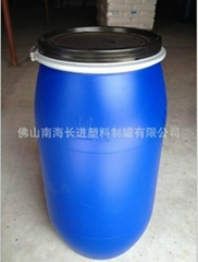 160L开口桶涂料桶铁箍桶