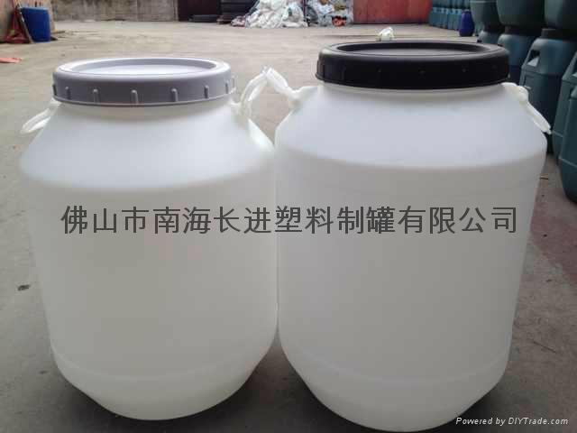 50L白色圓桶 2
