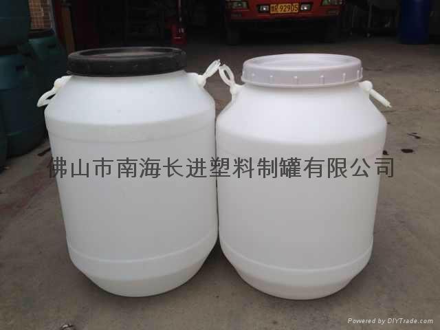 50L白色圓桶 1