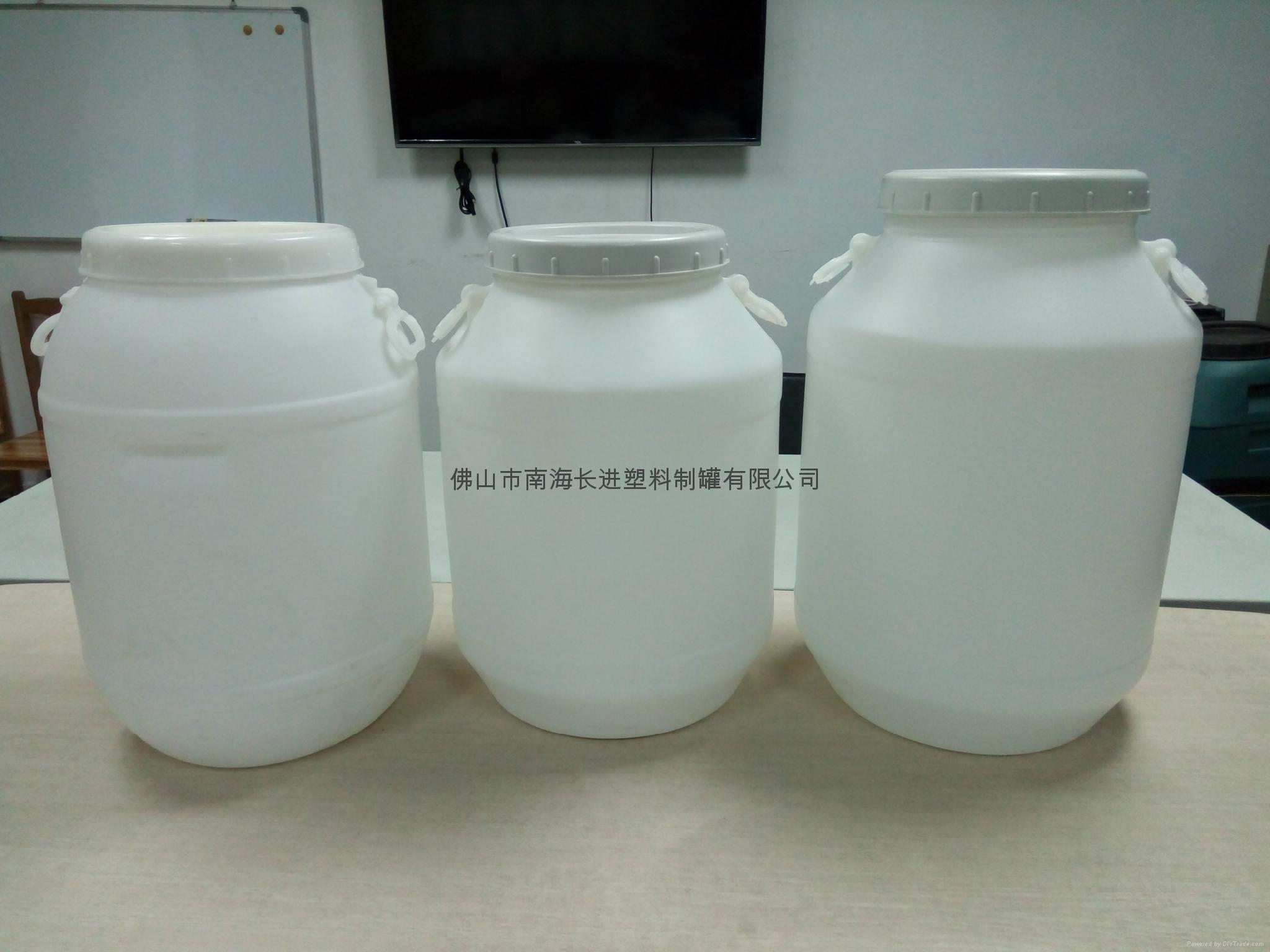50L白色圓桶 3