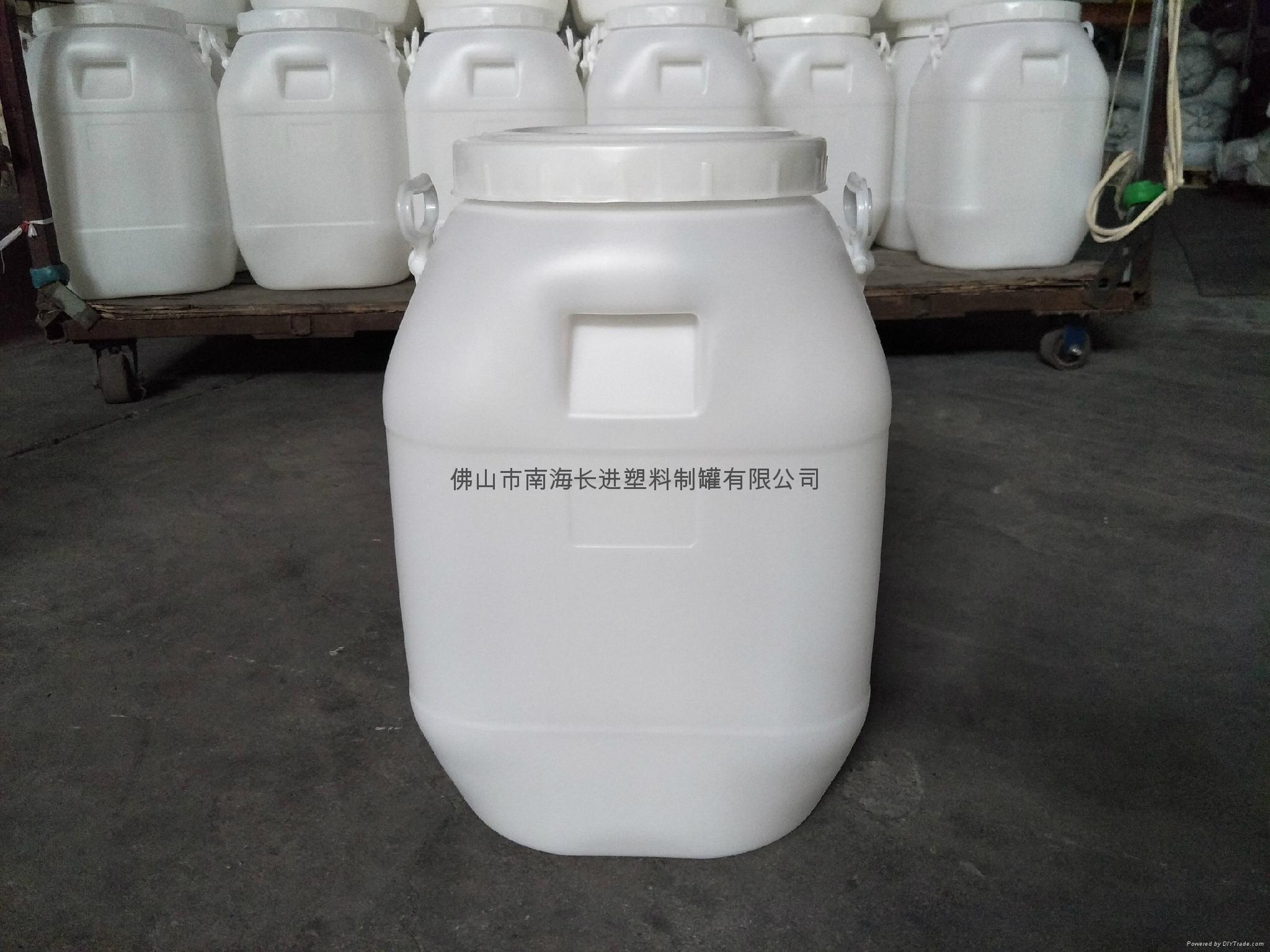 50L白色圓桶 4
