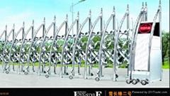 天津不鏽鋼伸縮門