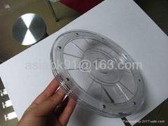 亚克力塑胶塑料透明旋转转盘