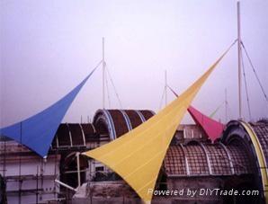 天津景观膜结构 1
