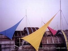 天津景觀膜結構