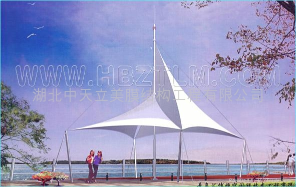 黑龙江景观膜结构 2