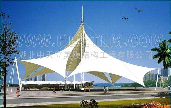 黑龙江景观膜结构 4