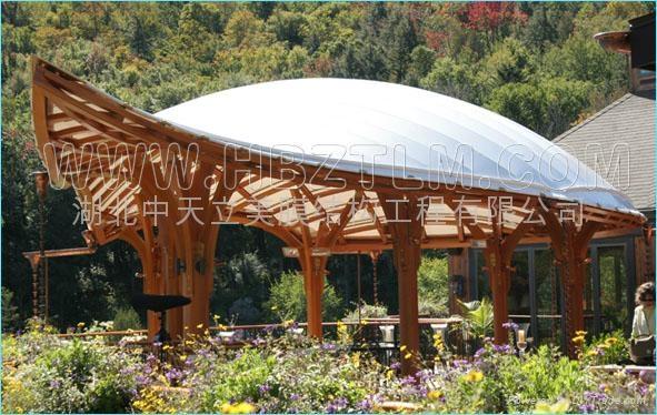 重庆景观膜结构 2