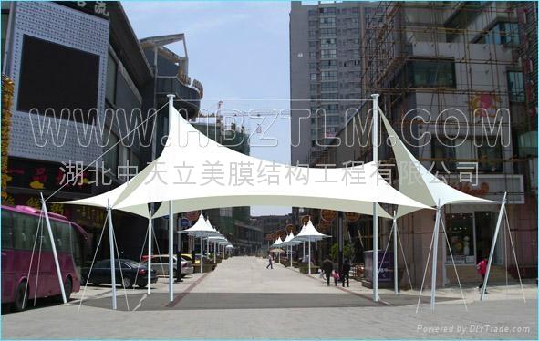 重庆景观膜结构 4