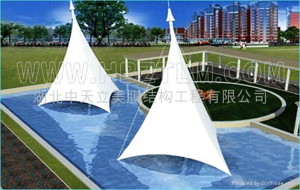 天津景觀膜結構 4