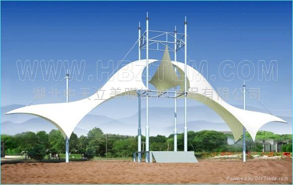 武汉景观膜结构 2