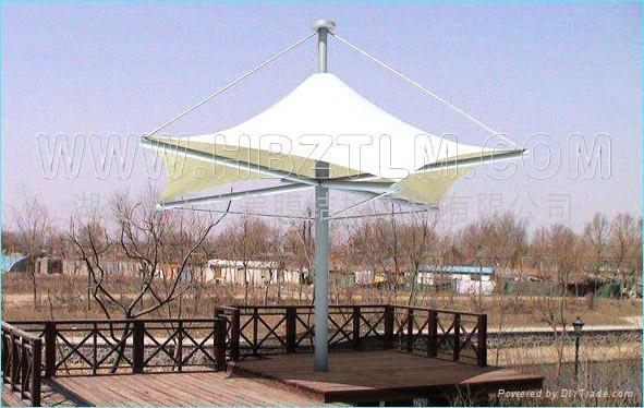 武汉景观膜结构 3