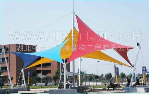 武汉景观膜结构 5