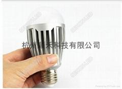 10WLED球泡燈