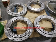 010.30.500 four point contact ball slewing bearing 602x398x80mm mining machine u