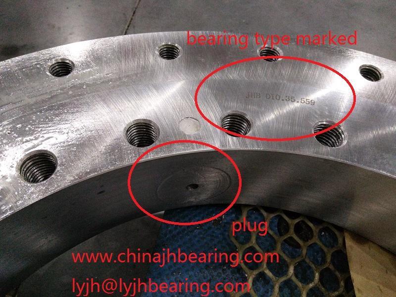 010.30.500 four point contact ball slewing bearing 602x398x80mm mining machine u 2