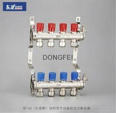 供应DF-B4精品型20A球阀式分集水器