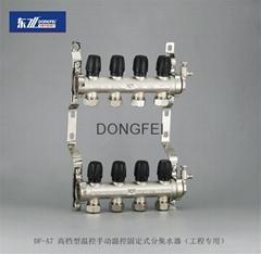 供应DF-A7 手动温控分集水器