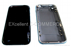 iPhone 3GS back cover with bezel black