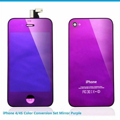 iPhone 4/4S Color Conversion Kit Mirror Purple Promotion