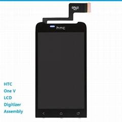 HTC One V G24 LCD Digitizer Assembly Black