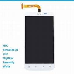 HTC Sensation XL G21 LCD Digitizer Assembly White