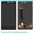 Lumia 925 LCD Digitizer Assembly Black