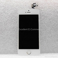 LCD Digitizer Assembly with Small Parts - White For iPhone 5S