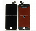 LCD Digitizer Assembly Replacement - Black For iPhone 5