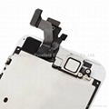 LCD Digitizer Assembly with Small Parts  White For iPhone 5