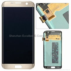 Samsung Galaxy S7 Edge G935 LCD Digitizer Assembly Replacement - Gold