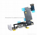 iPhone 6S Plus Lightning Connector and Headphone Jack - White 2