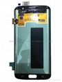 For Galaxy S7 Edge G935 LCD Digitizer Assembly Replacement - Gold