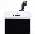 LCD Digitizer Assembly Replacement  White For iPhone 5S